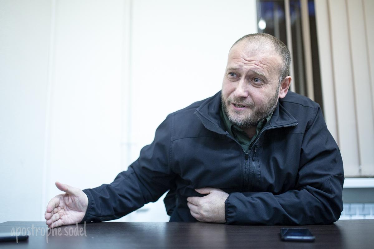 Дмитрий Ярош о войне на Донбассе, украинской власти и провокациях России