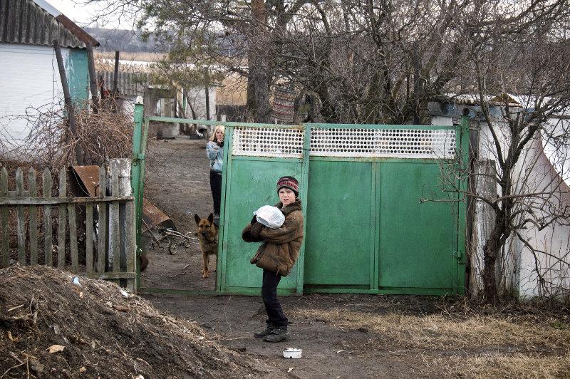 Жители прифронтовых сел меняют свое мнение в отношении Украины