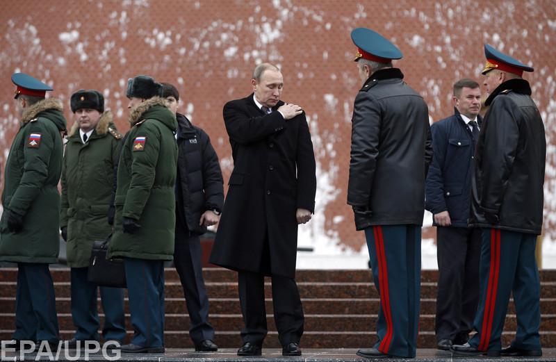 Путин боится беспорядков и переворота, - частная разведка США/В Stratfor пояснили, зачем Путин решил создать Национальную гвардию