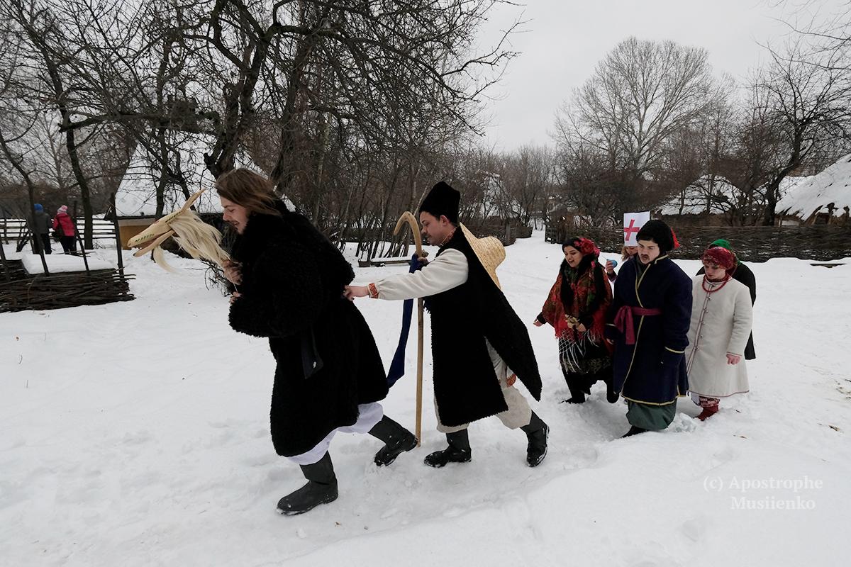 В Мамаевой Слободе отпраздновали Маланку и Василия