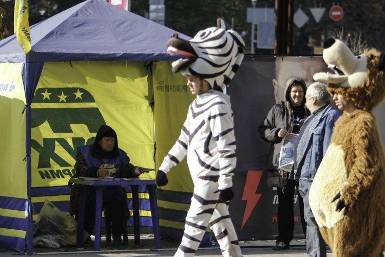 Пользователи соцсетей делятся смешными фото, связанными с выборами в Украине