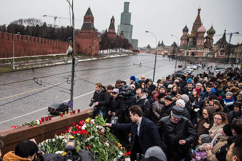 Убийство российского оппозиционера вызвало широкий резонанс во всем мире