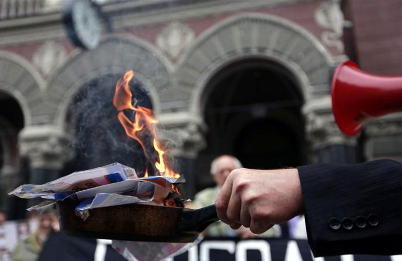 Золотой запас Украины сократился из-за необходимости погашать газовые долги